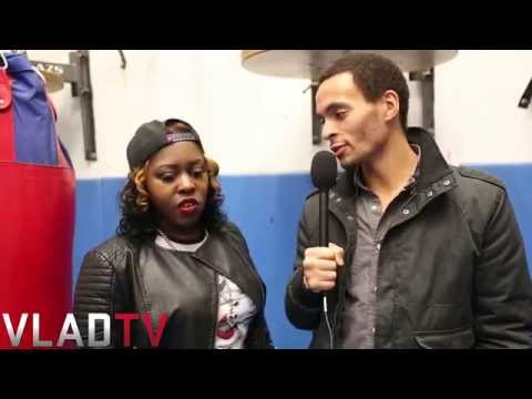 PERFORMING - http://www.vladtv.com - VladTV Battle Rap Journalist Michael Hughes caught up with both Couture and Precyse following the conclusion of QOTR's most recent battle event,