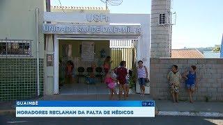 Moradores de Guaimbê reclamam da falta de médicos na rede pública
