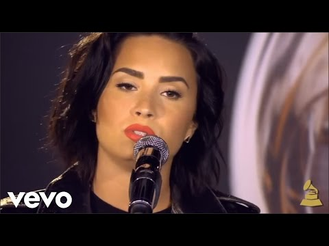 Video Demi Lovato - Stone Cold (Live at The Grammys) download in MP3, 3GP, MP4, WEBM, AVI, FLV January 2017