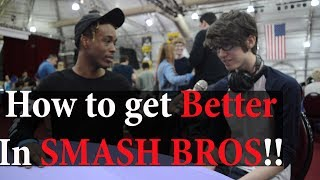 "DMG|Captain Zack, Dath, Blank and True Blue on ""How to get BETTER & IMPROVE at SMASH BROS!!"" Part 2"