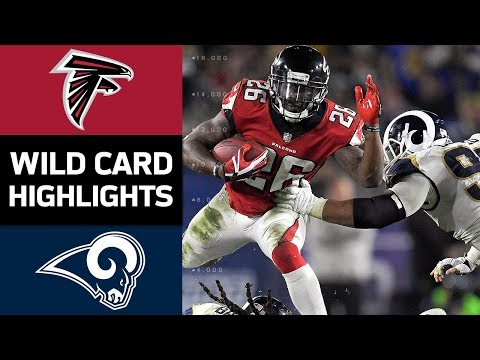 Falcons vs. Rams | NFL Wild Card Game Highlights (видео)