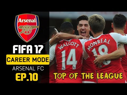 FIFA 17 Indonesia - Arsenal Career Mode - Puncak Klasemen #10