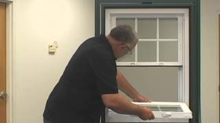Sash Removal Instructions for Atrium Windows