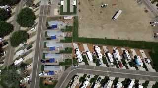 Buellton (CA) United States  City new picture : Flight Around Flying Flags RV Park, Buellton, CA