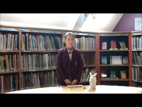 Junior Girls' ESB Presentations - Millie