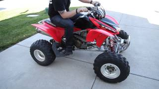 4. 2004 Honda TRX450r for sale