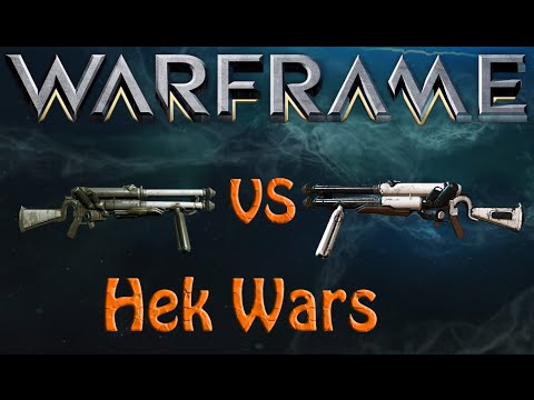 Warframe - Hek Wars (vaykor hek vs normal hek)