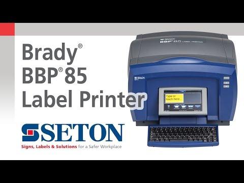 Brady® BBP85® Sign and Label Printer