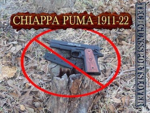 CHIAPPA PUMA 1911-22 ($250 DOLLAR .22 CALIBER PISTOL)