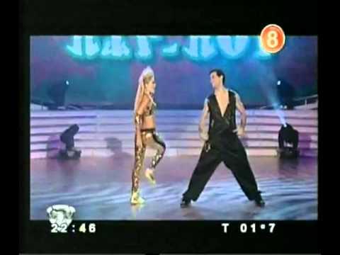 Emilia Attias bailando hip hop