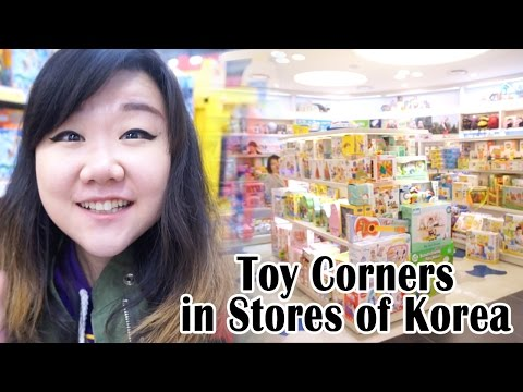Toy Corners of Stores in Korea – TOY HUNT – Korea VLog – Korean Toys, Lego, Sofia and MORE!