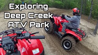 7. Honda Rancher & Recon ATVs: Exploring Deep Creek ATV Park