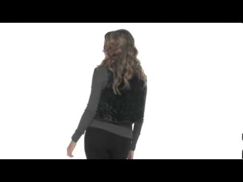 Brigitte Bailey Kelsi Short Shearling Faux-Fur VestSKU#:8035142
