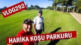 Gloria Ironman 70.3 de harika koşu parkuru ve bisiklet teslimi | Asla Durma Vlog292