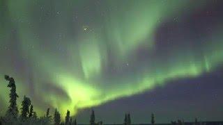 Fairbanks (AK) United States  city pictures gallery : Northern Lights Time-Lapse - Fairbanks Alaska USA