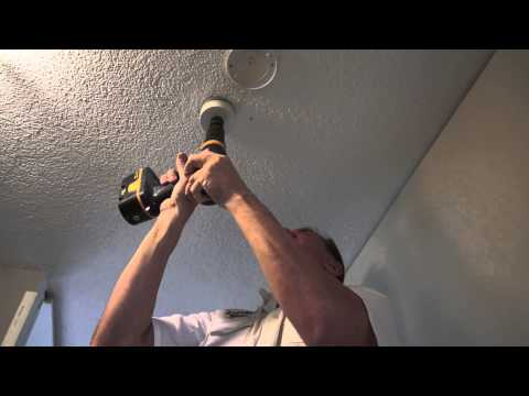 how to fit ceiling downlights