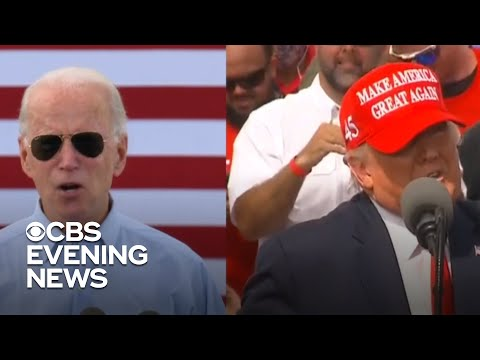 Biden and Trump focus in on Florida as election nears