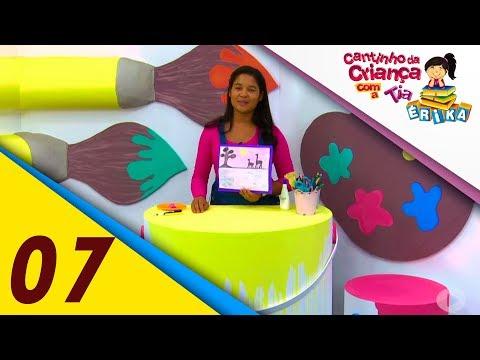 Pintura de aquarela, salada de fruta e história surpresa | Cantinho da Criança com a Tia Érika