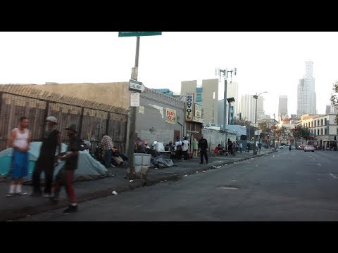 LOS ANGELES INFAMOUS SKID ROW HOOD