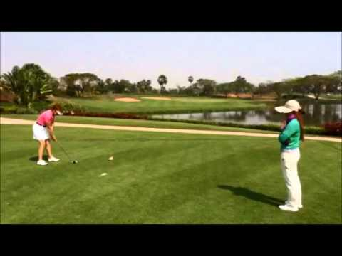 Asian Golf Vacations: Great Golf Shot at Angkor Golf Resort by PerryGolf Client