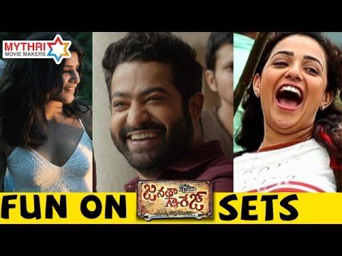 Janatha Garage Movie Bloopers - Mohanlal, Jr NTR
