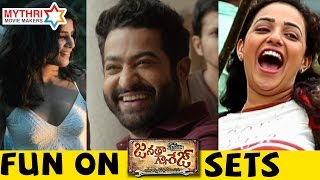 Janatha Garage Movie Bloopers - Mohanlal, Jr NTR