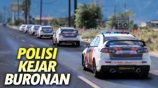 Video 6 Unit Mobil Polisi Konvoi Kejar Buronan - Gta 5 Polisi PJR Indonesia MP3, 3GP, MP4, WEBM, AVI, FLV Mei 2018