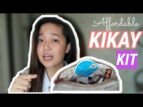 Students Budget Everyday Kikay Kit! TIPID na TIPID! | Egglyn Bebs (видео)