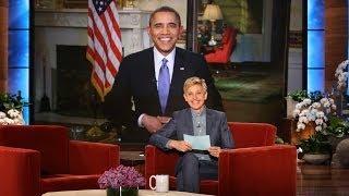 Video Pres. Barack Obama on Ellen Breaking His Twitter Record MP3, 3GP, MP4, WEBM, AVI, FLV September 2018