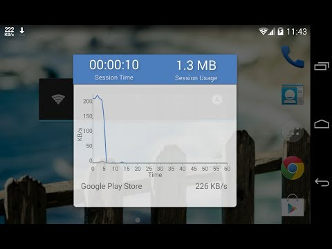 Video of Internet Speed Meter