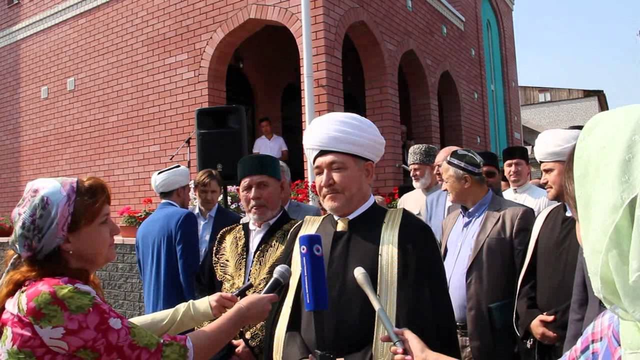 Новую мечеть открыли на Бору