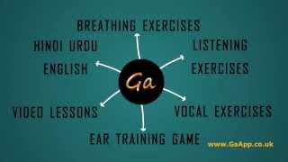 GA Vocal Coaching App YouTube video