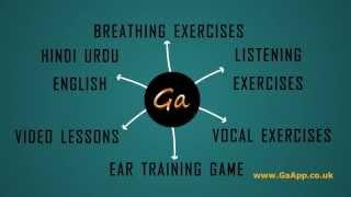 GA Vocal Coaching App YouTube video