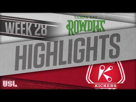 Tampa Bay - Ричмонд Кикерс 3:0. Видеообзор матча 23.09.2018. Видео голов и опасных моментов игры