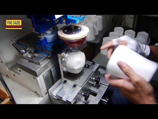 移印 - 玉米淀粉 (环保材质) 马克杯