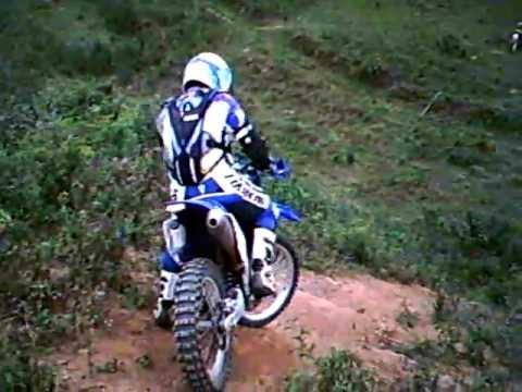 trilha de moto em Guaçuí