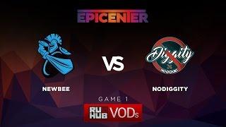 NewBee vs DiG, game 1
