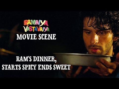 Ram's Dinner, Starts Spicy Ends Sweet - Ramaiya Vastavaiya Scene | Girish Kumar, Shruti Haasan