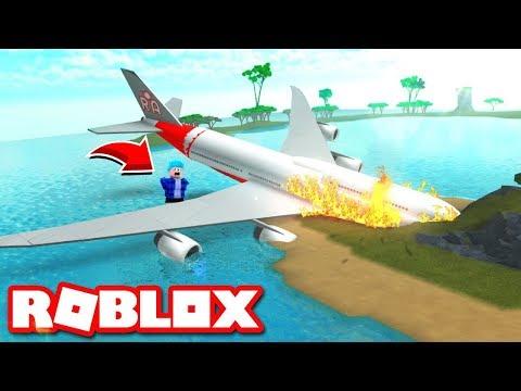 JE ME CRASH EN AVION AVEC TWINNER ! (Roblox)