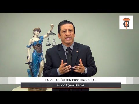 Programa 41 - La relación jurídico procesal - Tribuna Constitucional