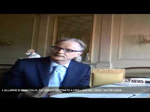 L'ALLARME DI BANKITALIA: PIL VENETO DESTINATO A CROLLARE NEL 2020  | 30/06/2020