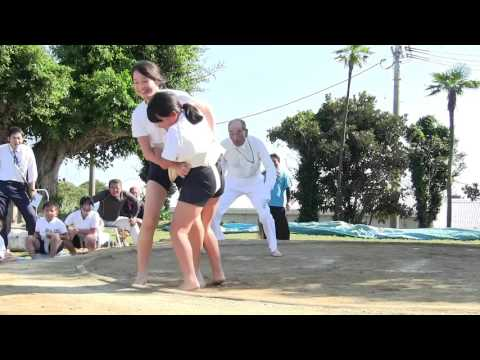 種子島の学校活動:西野小学校校内相撲大会ダイジェスト