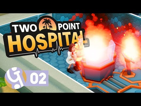 🏝️ Pebberley Reef In Flames! | Let's Play Two Point Hospital Pebberley Island Ep. 02