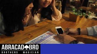 Video PULLS AN iPHONE OUT OF A NEWSPAPER MAGIC TRICKS - abracadaBRO Street Magic Prank Indonesia MP3, 3GP, MP4, WEBM, AVI, FLV Januari 2018