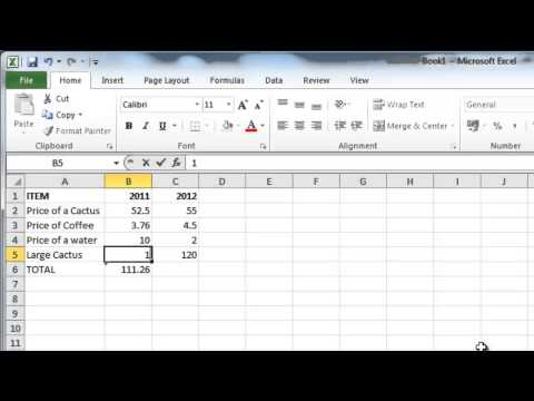 How to Make Excel 2010 formulas calculate automatically