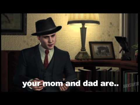 mans1ay3r - interrogations you probably missed in LA Noire. If you missed part 1, check it out here: http://www.youtube.com/watch?v=mM-bfn8vZ_w Don't forget to