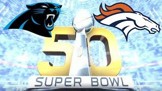 Super Bowl 50 Panthers vs Broncos