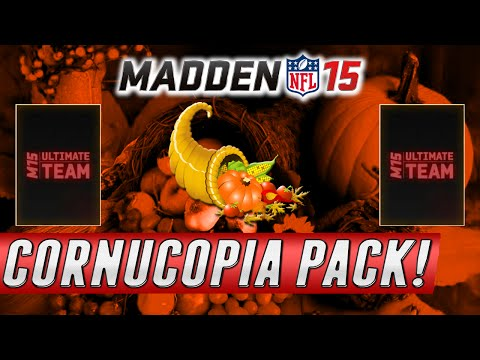 MUT 15 - CORNUCOPIA PACK OPENING - Risking It All Live On Skype With Reactions