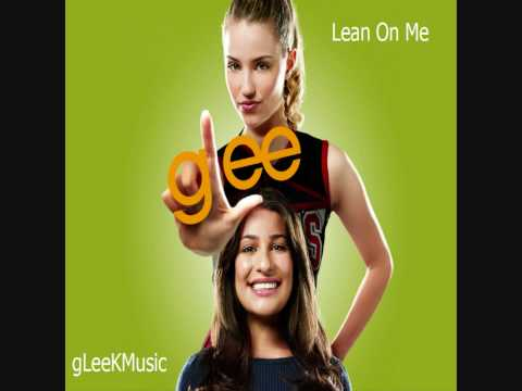 lean on me glee karaoke download