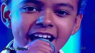 Jotta A-Amazing Grace-Jovens Talentos Kids - Programa Raul Gil